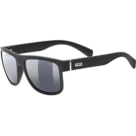 UVEX LGL 21 Gafas, black mat/smoke